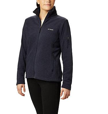 Women's Fast Trek™ Printed Fleece Jacket Fast Trek™ Printed Jkt | 015 | XS, Dark Nocturnal Dot Print, front