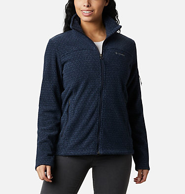 Women's Fast Trek™ Printed Fleece Jacket , front