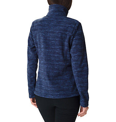 Women's Fast Trek™ Printed Fleece Jacket Fast Trek™ Printed Jkt | 592 | XL, Nocturnal Spacedye Print, back