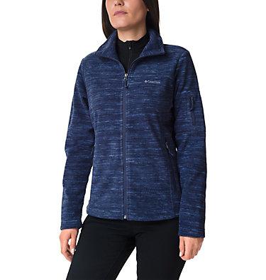 Women's Fast Trek™ Printed Fleece Jacket Fast Trek™ Printed Jkt | 015 | XS, Nocturnal Spacedye Print, front