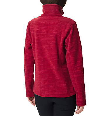 Women's Fast Trek™ Printed Fleece Jacket Fast Trek™ Printed Jkt | 592 | XL, Daredevil Spacedye Print, back