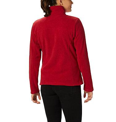 Women's Fast Trek™ Printed Fleece Jacket Fast Trek™ Printed Jkt | 015 | XS, Beet Dot Print, back