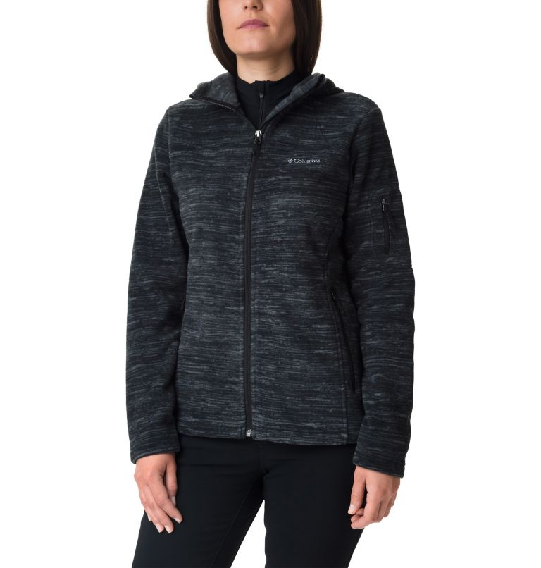 Women's Fast Trek™ Hooded Fleece Jacket Women's Fast Trek™ Hooded Fleece Jacket, front