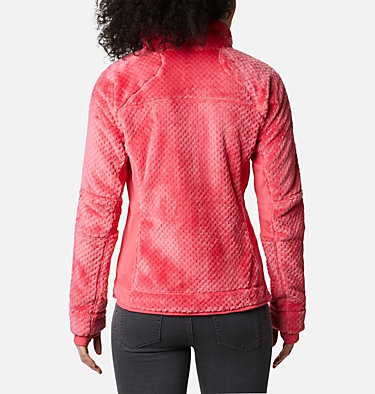Women's Pearl Plush™ II Fleece Pearl Plush™ II Fleece | 595 | XS, Bright Geranium, back
