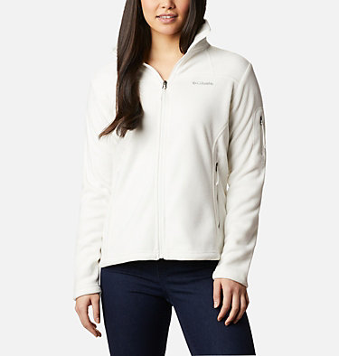 Women's Fast Trek™ II Fleece Jacket Fast Trek™ II Jacket | 010 | XS, Sea Salt, front
