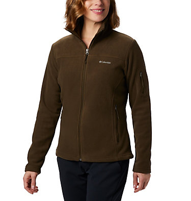 Women's Fast Trek™ II Fleece Jacket Fast Trek™ II Jacket | 010 | XS, Olive Green, front
