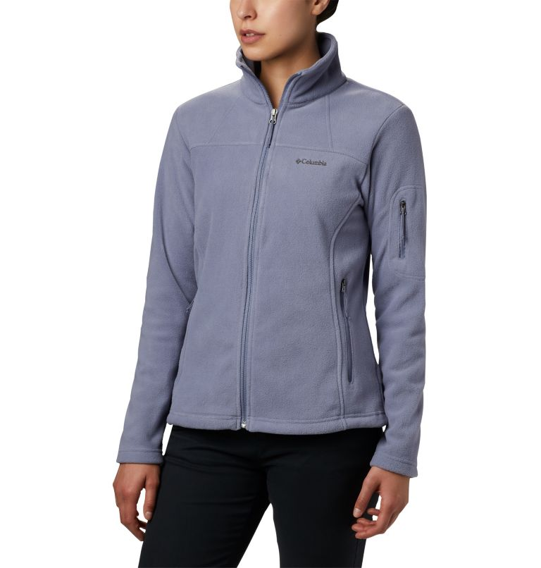 Columbia Fast Trek Printed Womens Zip-Up Fleece Jacket
