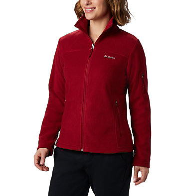 Women's Fast Trek™ II Fleece Jacket Fast Trek™ II Jacket | 010 | XS, Beet, Daredevil, front