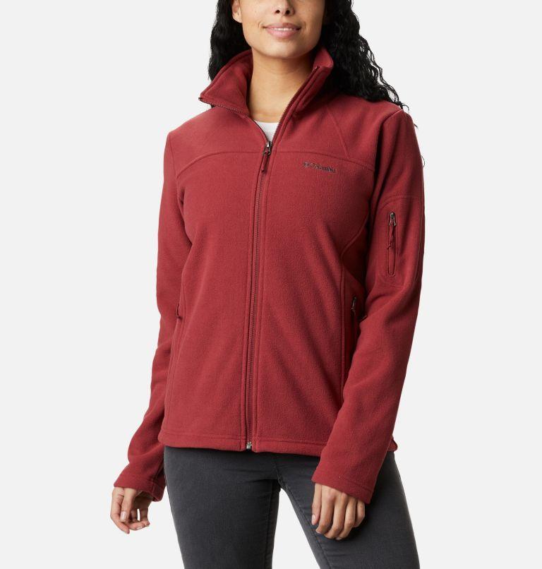 Fast Trek™ II Jacket | 619 | S Veste Fast Trek™ II Femme, Marsala Red, front