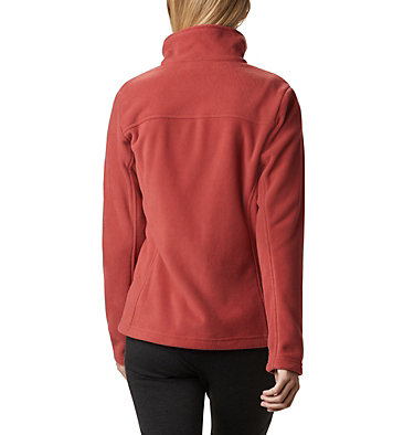 Women's Fast Trek™ II Fleece Jacket Fast Trek™ II Jacket | 010 | XS, Dusty Crimson, back