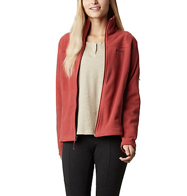 Women's Fast Trek™ II Fleece Jacket Fast Trek™ II Jacket | 010 | XS, Dusty Crimson, front