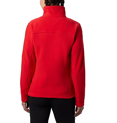 Women's Fast Trek™ II Fleece Jacket Fast Trek™ II Jacket | 370 | XS, Red Lily, back