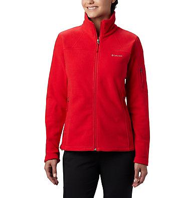 Women's Fast Trek™ II Fleece Jacket Fast Trek™ II Jacket | 370 | XS, Red Lily, front
