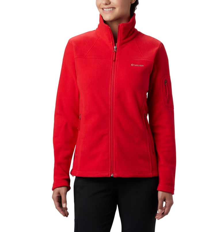 Fast Trek™ II Jacket | 658 | L Fast Trek™ II Jacket da donna, Red Lily, front