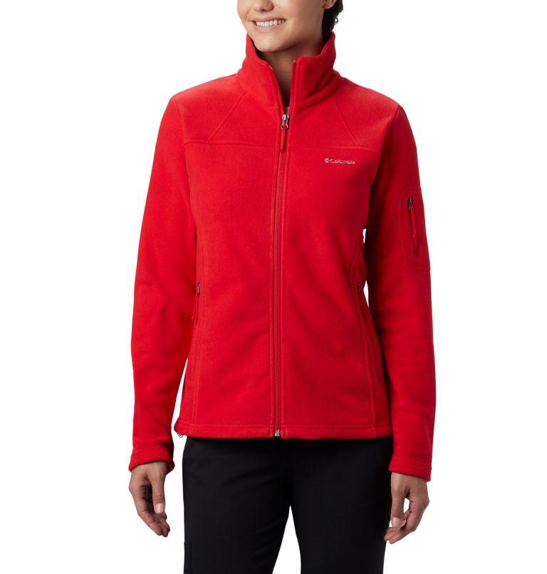 Fast Trek™ II Jacket | 658 | M Fast Trek™ II Jacket da donna, Red Lily, front