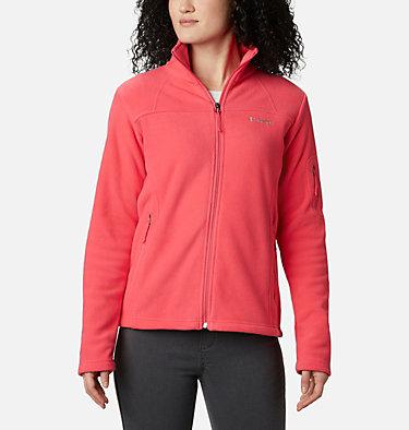 Women's Fast Trek™ II Fleece Jacket Fast Trek™ II Jacket | 370 | XS, Bright Geranium, front