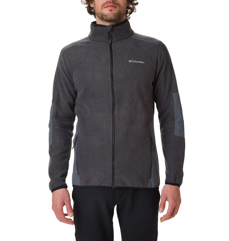 Tough Hiker™ Full Zip Fleece | 010 | XXL Men's Tough Hiker™ Full-Zip Fleece, Black, a1