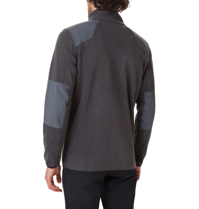 Tough Hiker™ Full Zip Fleece | 010 | XXL Men's Tough Hiker™ Full-Zip Fleece, Black, back