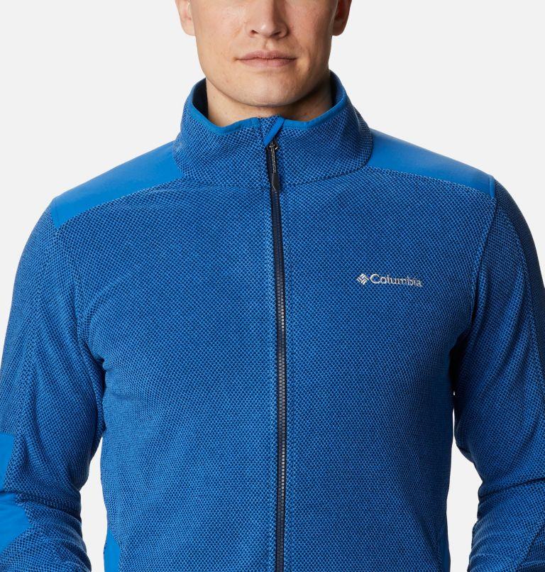 Tough Hiker™ Full Zip Fleece | 432 | XL Men's Tough Hiker™ Full-Zip Fleece, Bright Indigo, a2