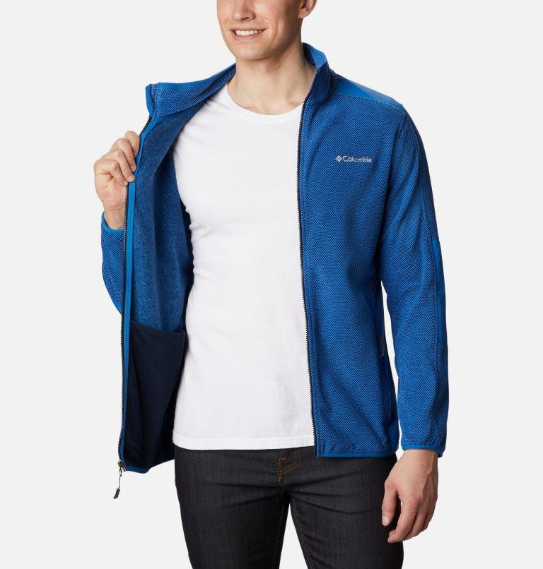 Tough Hiker™ Full Zip Fleece | 432 | XXL Men's Tough Hiker™ Full-Zip Fleece, Bright Indigo, a3