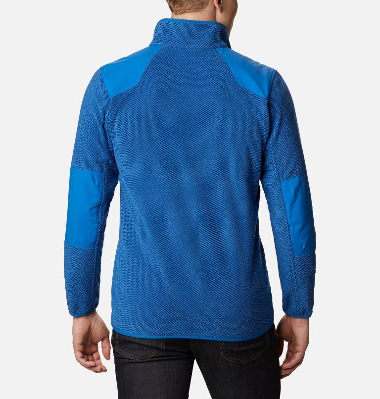 Tough Hiker™ Full Zip Fleece | 432 | XL Men's Tough Hiker™ Full-Zip Fleece, Bright Indigo, back
