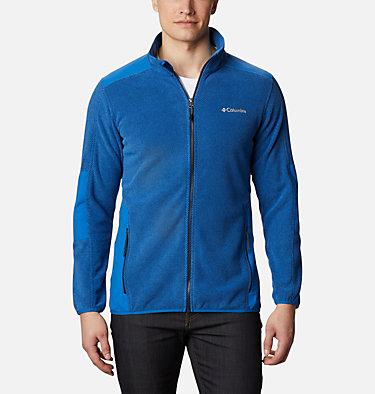 Men's Tough Hiker™ Full-Zip Fleece Tough Hiker™ Full Zip Fleece | 010 | L, Bright Indigo, front