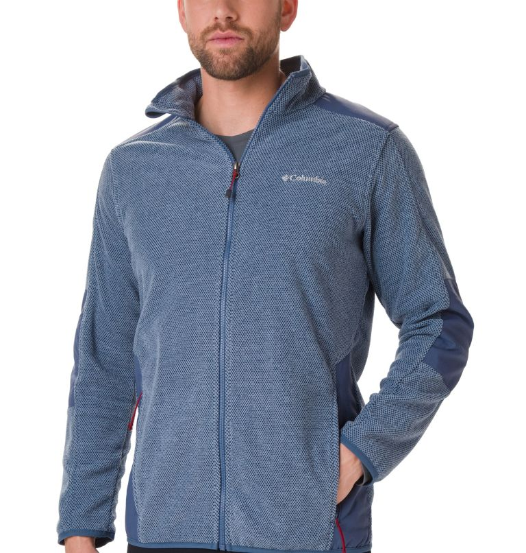 Tough Hiker™ Full Zip Fleece | 478 | XXL Men's Tough Hiker™ Full-Zip Fleece, Dark Mountain, a1
