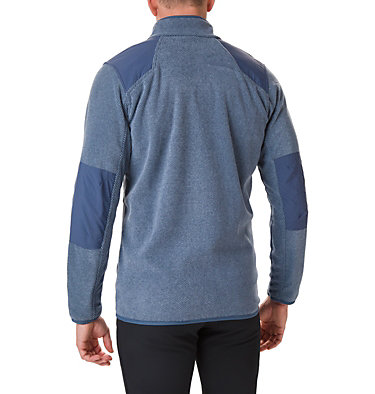 Men's Tough Hiker™ Full-Zip Fleece Tough Hiker™ Full Zip Fleece | 664 | XL, Dark Mountain, back