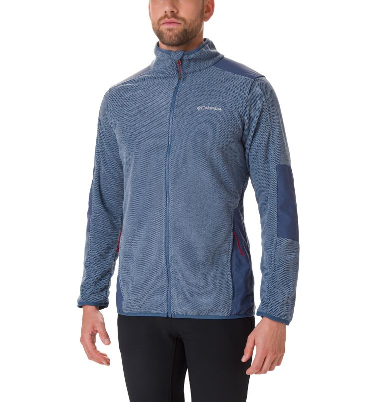 Tough Hiker™ Full Zip Fleece | 478 | S Men's Tough Hiker™ Full-Zip Fleece, Dark Mountain, front