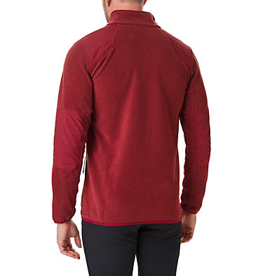 Men's Tough Hiker™ Full-Zip Fleece Tough Hiker™ Full Zip Fleece | 664 | XL, Red Jasper, back