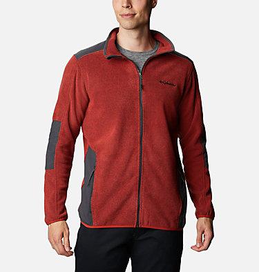 Men's Tough Hiker™ Full-Zip Fleece Tough Hiker™ Full Zip Fleece | 010 | L, Flame, Shark, front