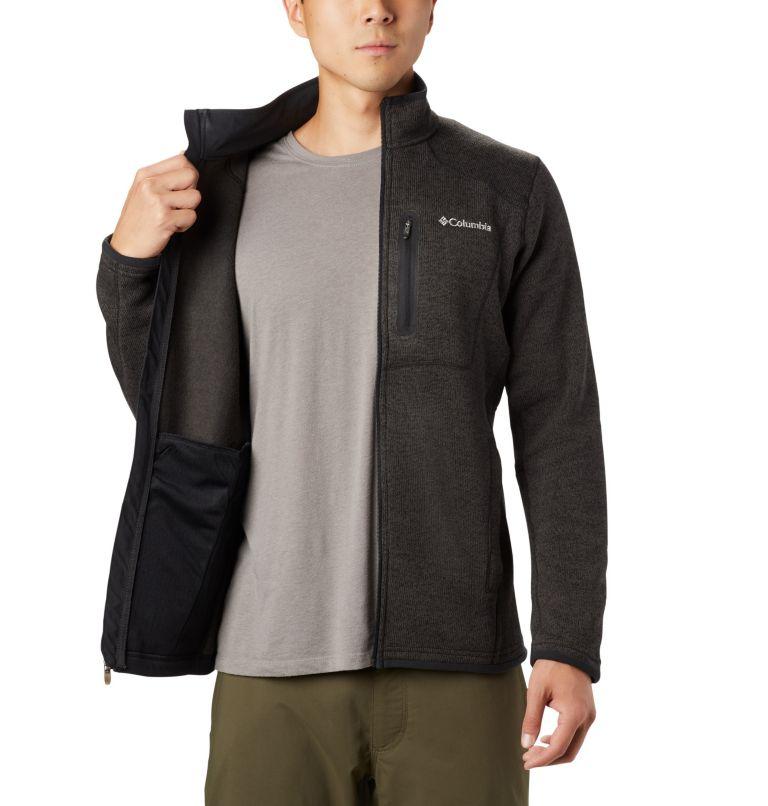 Altitude Aspect™ FZ | 010 | XXL Men's Altitude Aspect™ Full Zip Fleece Jacket, Black, Heather, a3