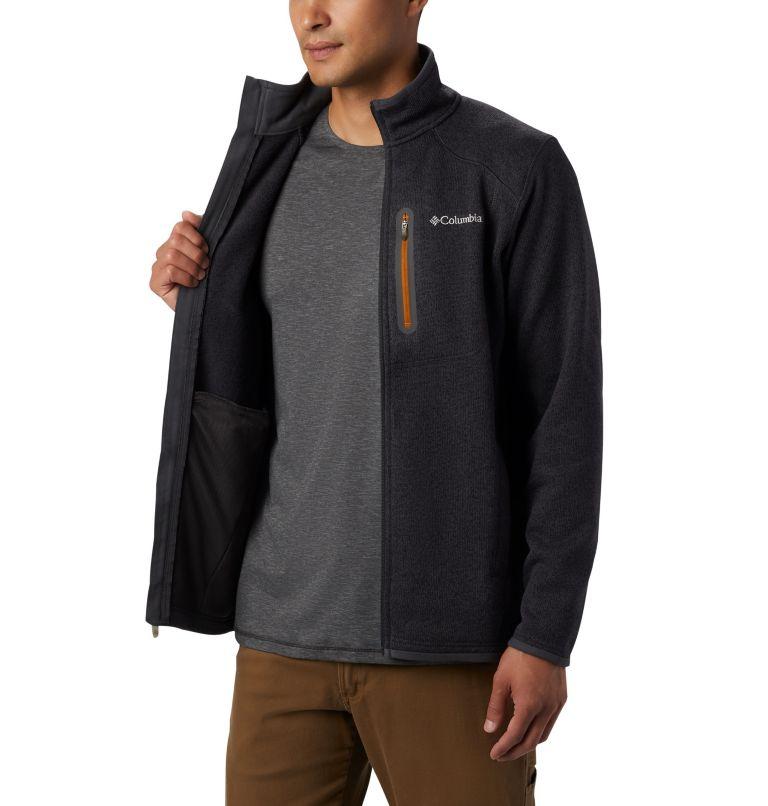 Altitude Aspect™ FZ | 011 | XL Men's Altitude Aspect™ Full Zip Fleece Jacket, Shark, Burnished Amber, a3