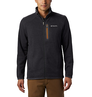 Men's Altitude Aspect™ Full Zip Fleece Jacket Altitude Aspect™ FZ | 419 | S, Shark, Burnished Amber, front