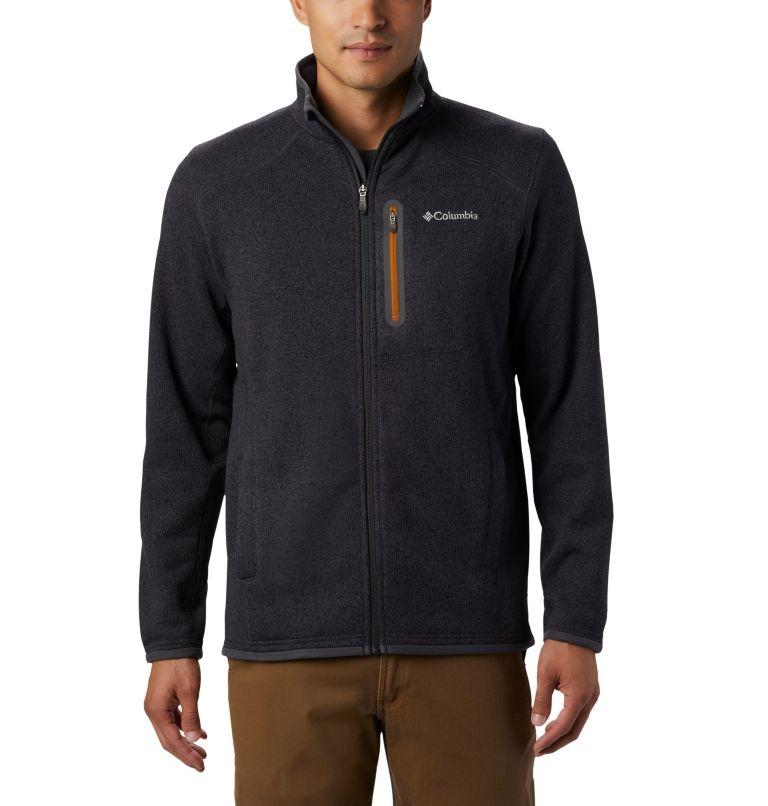 Altitude Aspect™ FZ | 011 | XL Men's Altitude Aspect™ Full Zip Fleece Jacket, Shark, Burnished Amber, front