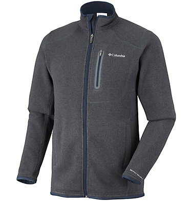 Polar de cremallera completa Altitude Aspect™ para hombre Altitude Aspect™ FZ | 449 | XS, India Ink Heather, front