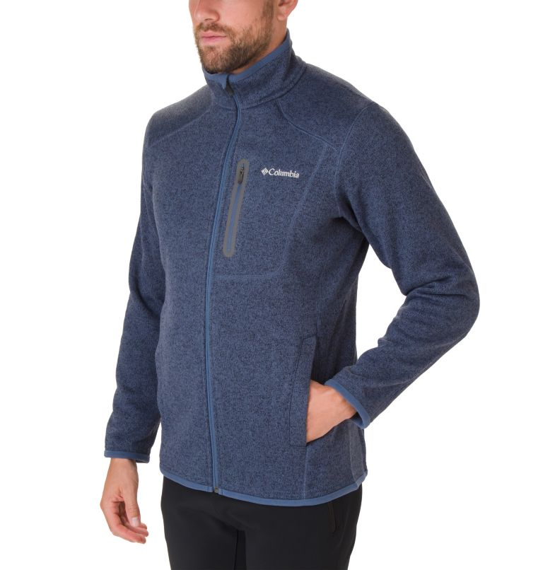 Altitude Aspect™ FZ | 479 | S Men's Altitude Aspect™ Full Zip Fleece Jacket, Dark Mountain Heather, a1