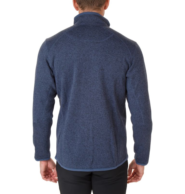 Altitude Aspect™ FZ | 479 | XS Men's Altitude Aspect™ Full Zip Fleece Jacket, Dark Mountain Heather, back