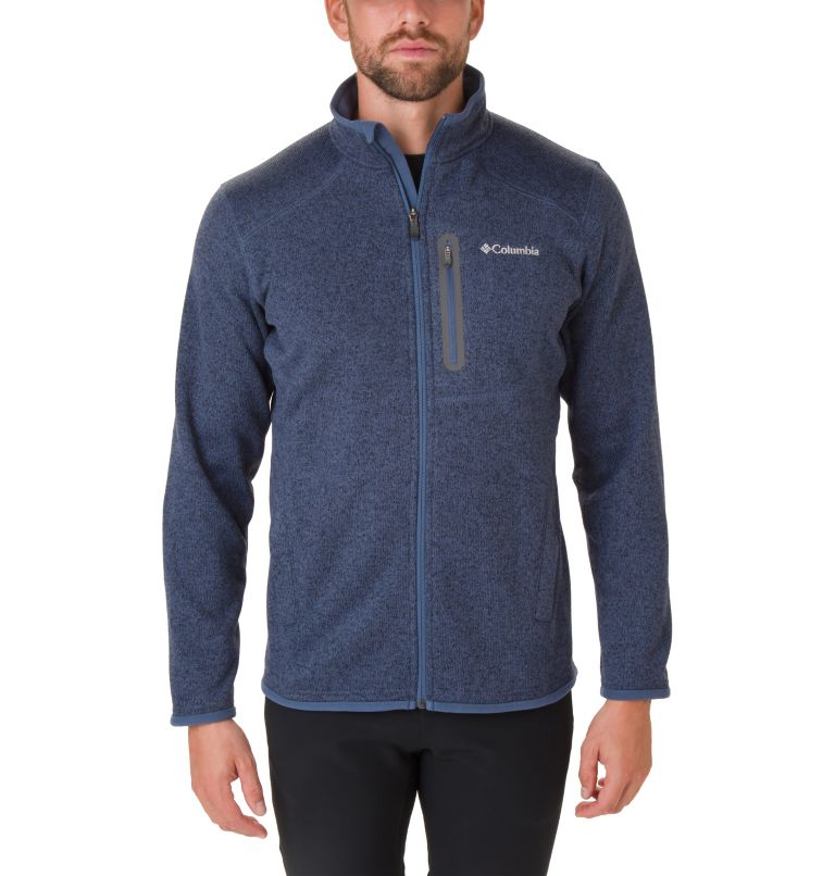 Altitude Aspect™ FZ | 479 | S Men's Altitude Aspect™ Full Zip Fleece Jacket, Dark Mountain Heather, front