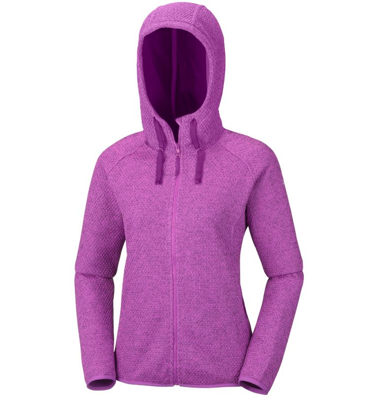 Columbia Womenss Pacific Point Full Zip Hoodie Fleece Jacket and Sweaters