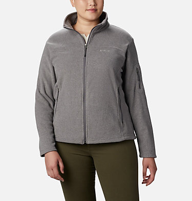 Veste Fast Trek™ II Femme – Grande Taille Fast Trek™ II Jacket | 125 | 1X, City Grey Heather, front