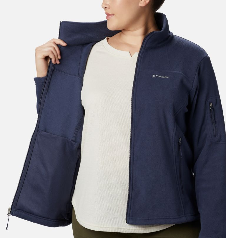 Women's Fast Trek™ II Fleece Jacket – Plus Size Women's Fast Trek™ II Fleece Jacket – Plus Size, a3
