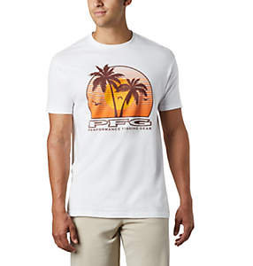 Men's PFG Vacation Graphic Tee Shirt
