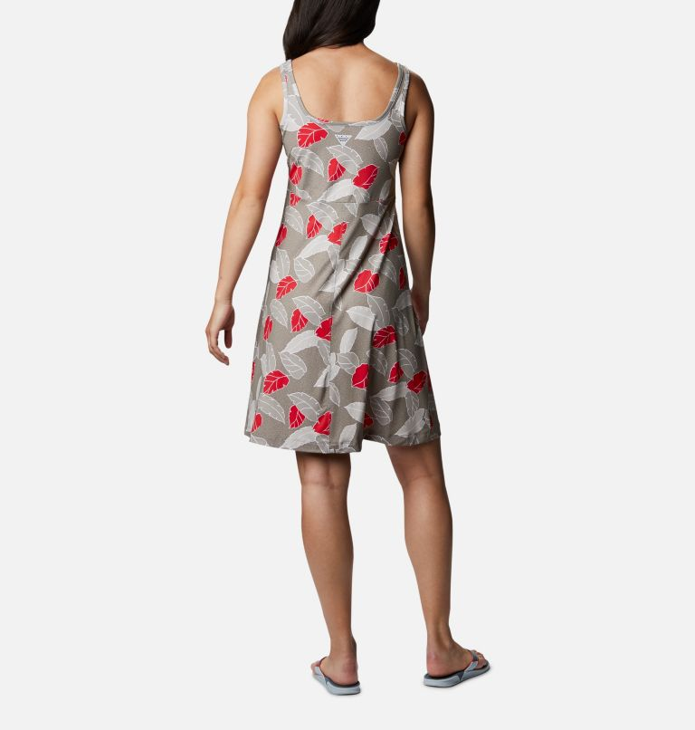 Freezer™ III Dress | 005 | M Women's PFG Freezer™ III Dress, Kettle Ditsy Leaves Print, back