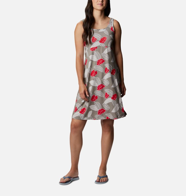 Freezer™ III Dress | 005 | M Women's PFG Freezer™ III Dress, Kettle Ditsy Leaves Print, front