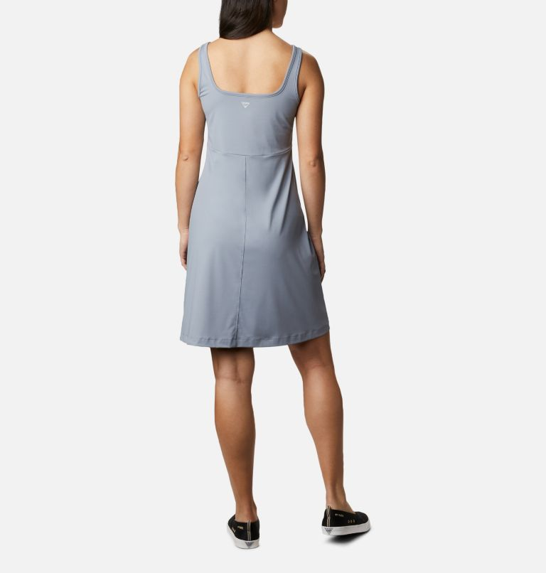 Freezer™ III Dress | 032 | M Women's PFG Freezer™ III Dress, Tradewinds Grey, back