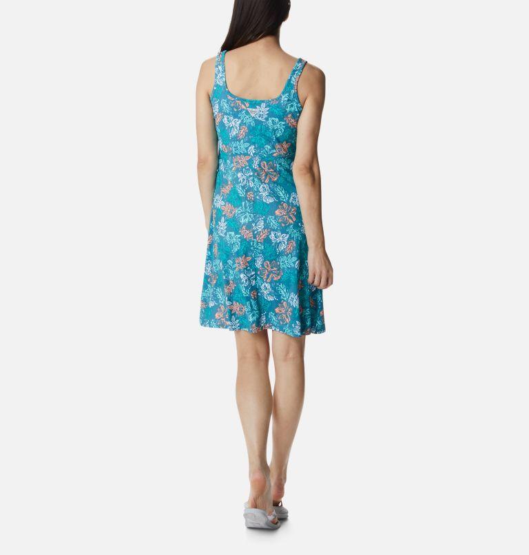 Freezer™ III Dress | 425 | S Women's PFG Freezer™ III Dress, Shasta Archive Palms Print, back
