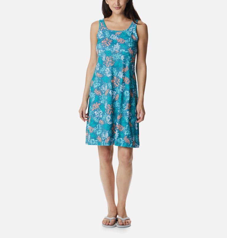 Freezer™ III Dress | 425 | S Women's PFG Freezer™ III Dress, Shasta Archive Palms Print, front