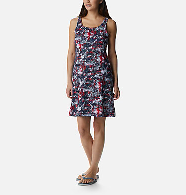 Women's PFG Freezer™ III Dress Freezer™ III Dress | 359 | XS, Collegiate Navy Waterbrush Print, front