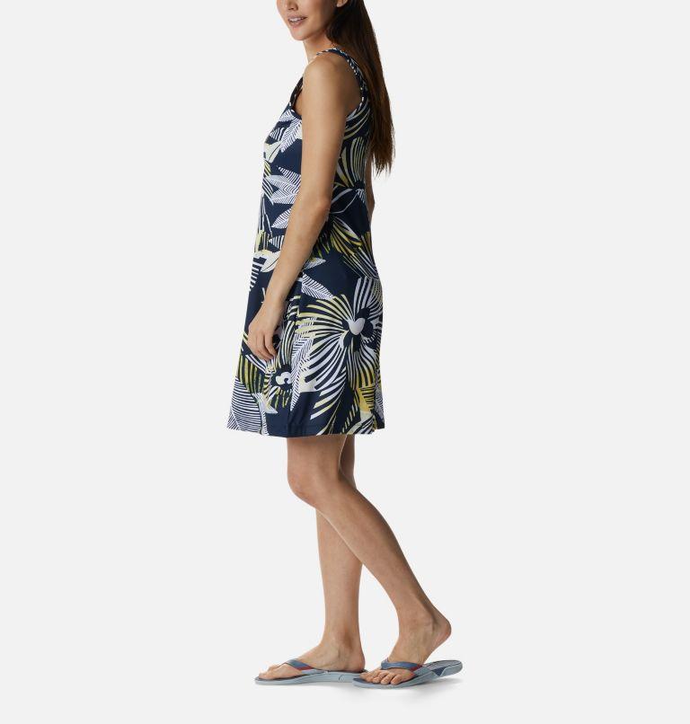 Freezer™ III Dress   493   M Women's PFG Freezer™ III Dress, Collegiate Navy Stencil Hibiscus Print, a1